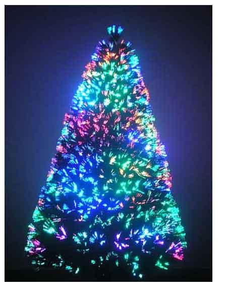 6ft Fiber Optic Artificial Christmas Tree