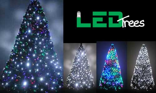 7ft fiber optic pre lit christmas tree - Pre Lighted Christmas Trees