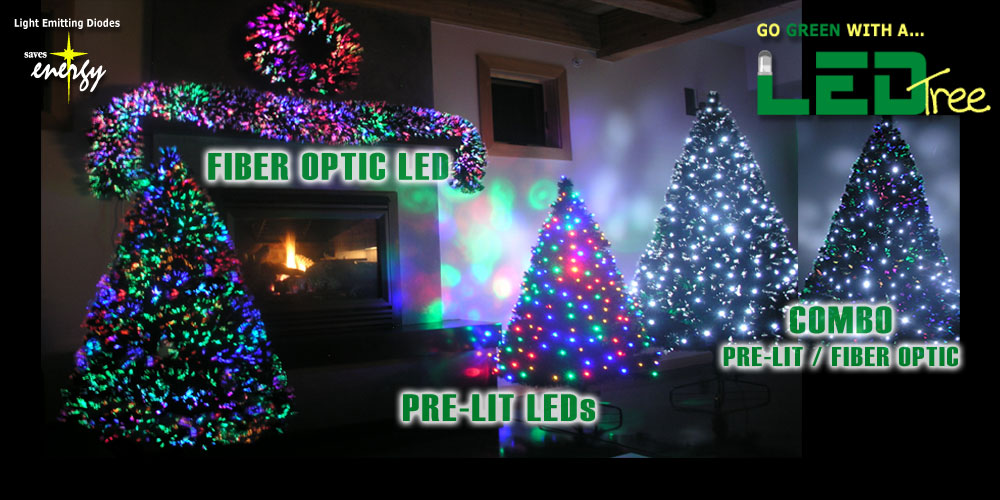 Pre Lit Artificial Christmas Trees - Prelit Artificial Christmas Tree