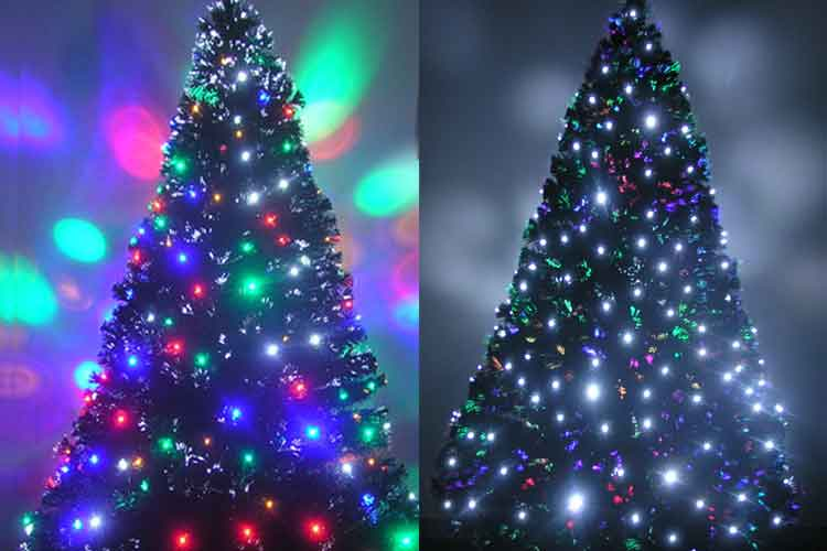 Fiber Optic Christmas Tree 7ft